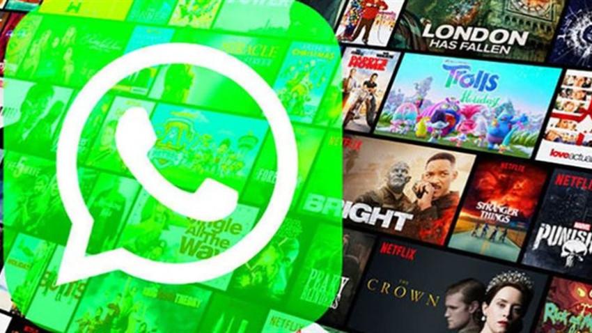 WhatsApp ile Netflix arasında işbirliği