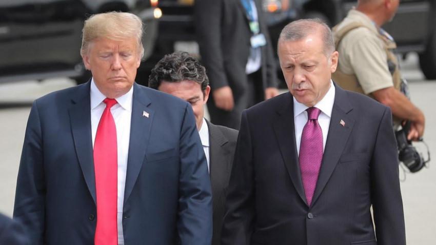 ABD ziyareti öncesi flaş iddia! Trump Erdoğan'a bir mektup daha mı yazdı?