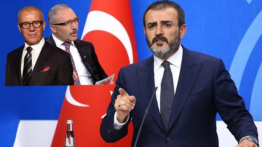 """AKP'li Ünal'dan Özkök ve Selvi'ye tepki: """"Medya etiğine uymaz"""""""