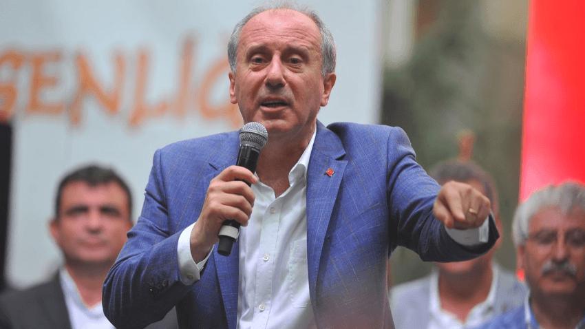 Rahmi Turan açıkladı, Muharrem İnce'den cevap gecikmedi: Kanıtlasınlar kendimi Taksim'de yakarım