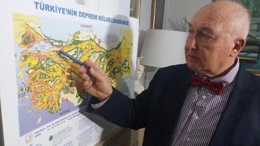 Ahmet Ercan canlı yayında tarih verdi: İstanbul'da 2 deprem olacak!