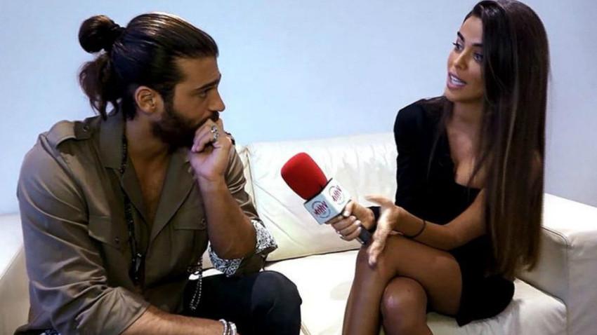 Can Yaman, muhabiri sözleriyle sıkıştırdı! Röportajda randevu koparma çabası!