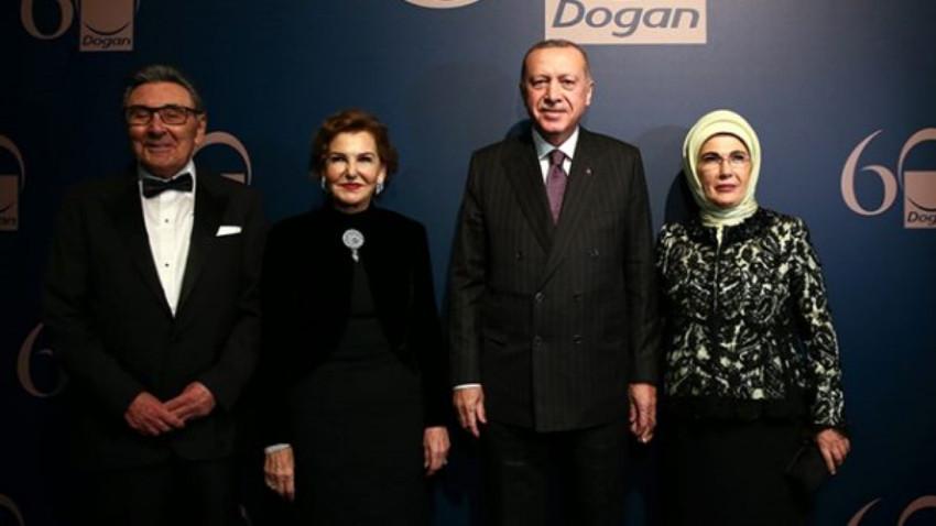 """Aydın Doğan, Erdoğan'ın katıldığı gecede konuştu: """"Medyayı özlüyorum, içim çekiyor"""""""