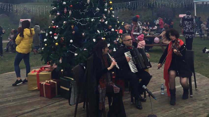 Etiler Sanatçılar Parkı'nda sıcak 'Aralık' etkinliği