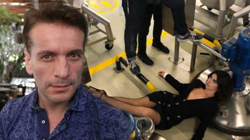 Nesrin Cavadzade'nin iş kazasına, Murat Cemcir'den olay yanıt!