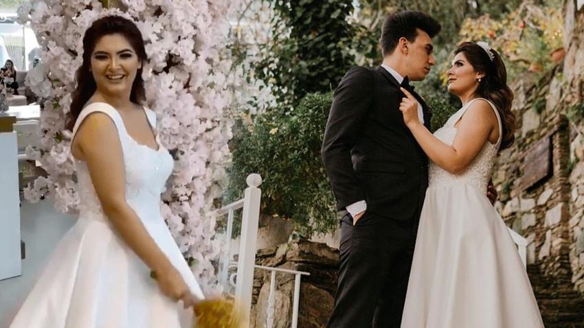 Kafa karıştıran paylaşım! Aniden evlenen Hanife hamile mi?