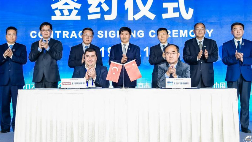Türk-Çin medyası arasında stratejik ortaklık anlaşması