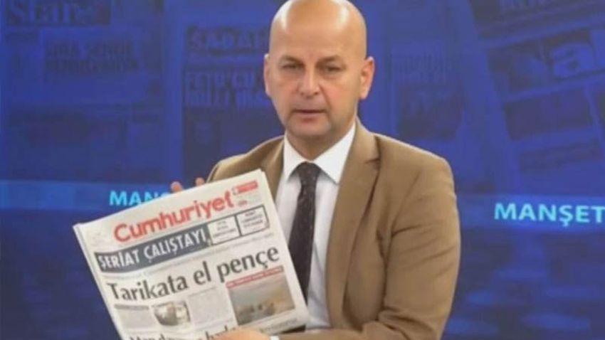 'Cumhuriyet'e el bombası atalım' demişti! Akit TV sunucusu hakkında flaş gelişme!