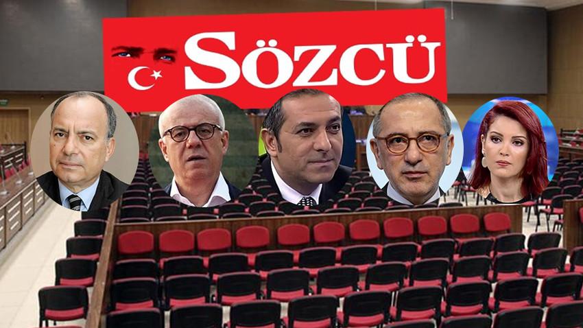 Köşe yazarlarından karara ortak tepki: Sözcü'den FETÖ çıkmaz!