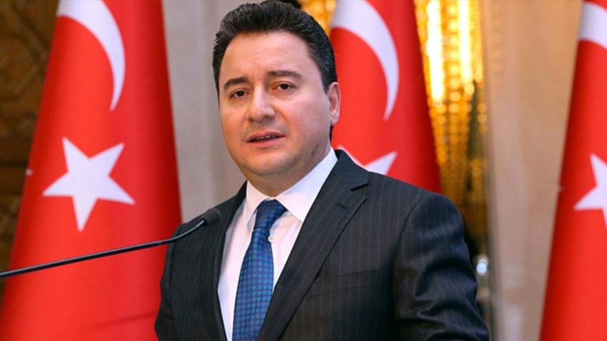 Ali Babacan'dan yeni parti açıklaması: Herkesin içi rahat olsun