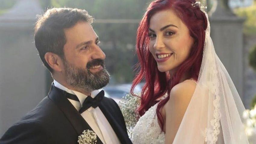 Ünlü sunucu Erhan Çelik ve eşi Özlem Gültekin'in mutlu günü