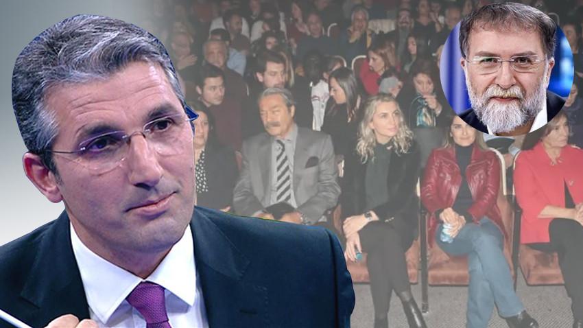 """Ahmet Hakan'a yazarı Nedim Şener'den itiraz! """"Bu fotoğraf projedir"""""""