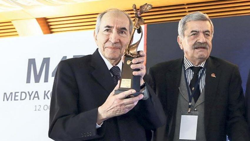 Basın Onur Ödülü Altan Öymen'e verildi
