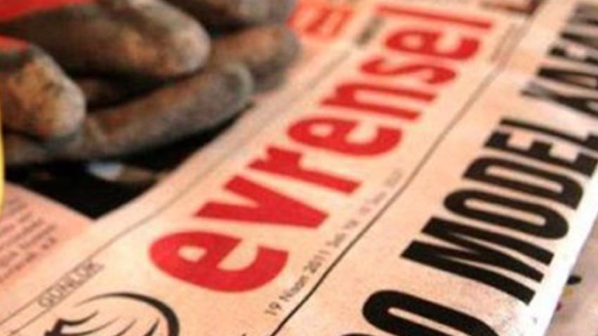 Basın İlan Kurumu'ndan, Evrensel'e 45 gün ilan kesme cezası