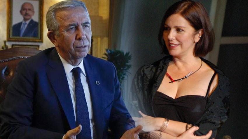 Aydınlık Gazetesi fena karıştırdı: Ünlü sanatçıyı Mansur Yavaş'ın eşi yaptı!