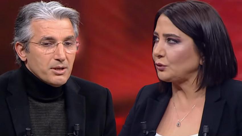 """Sevilay Yılman'dan Nedim Şener'e tepki! """"Sırf kendi düşüncesini haklı kılmak için..."""""""