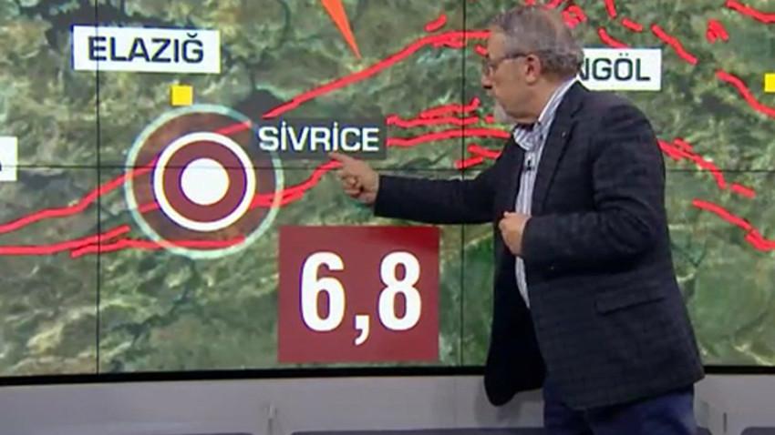 Elazığ depremini bilmişti! Naci Görür bu kez o şehri işaret etti!