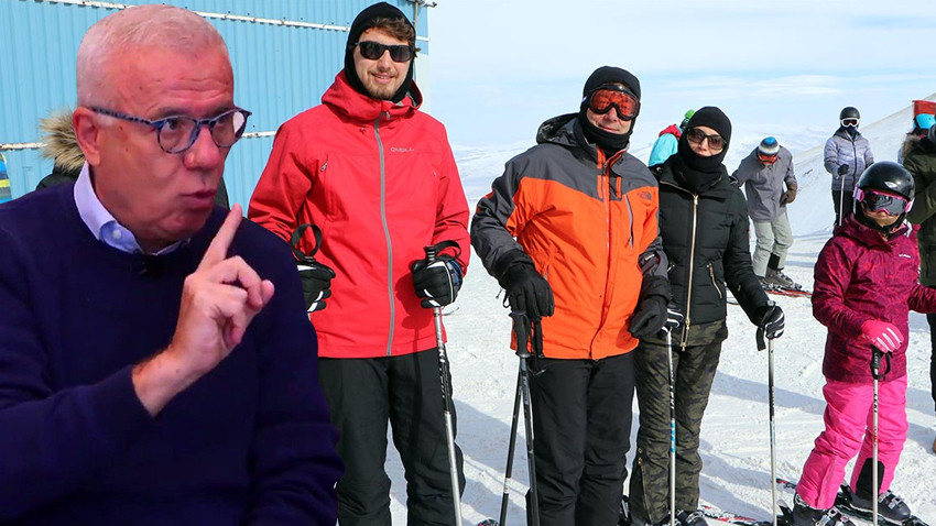 """Ertuğrul Özkök'ten İmamoğlu'na kayak tatili tepkisi! """"Hiç olmadı Ekrem Bey..."""""""
