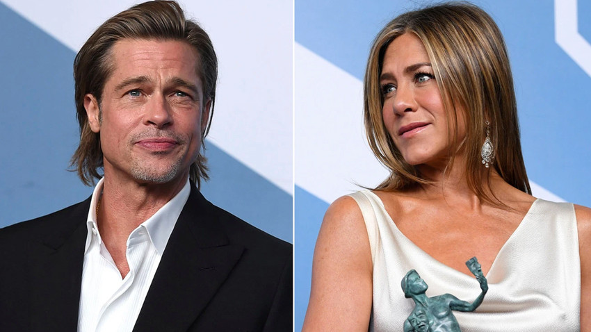 Brad Pitt ile Jennifer Aniston hakkında bomba iddia!