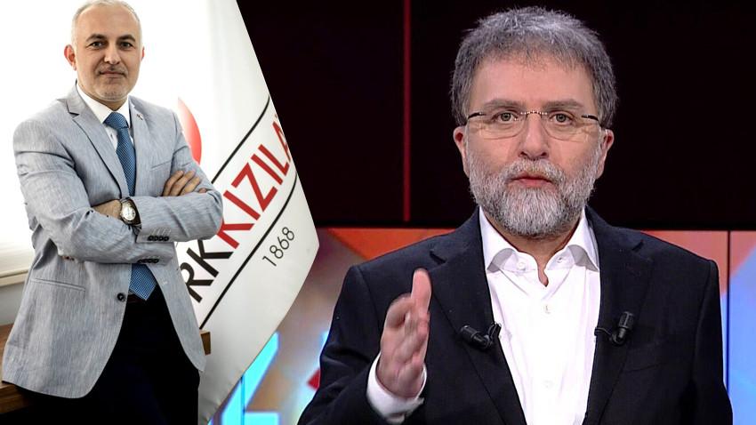 Ahmet Hakan'dan Kızılay'a sert tepki: Sen yardım transfer ofisi misin?
