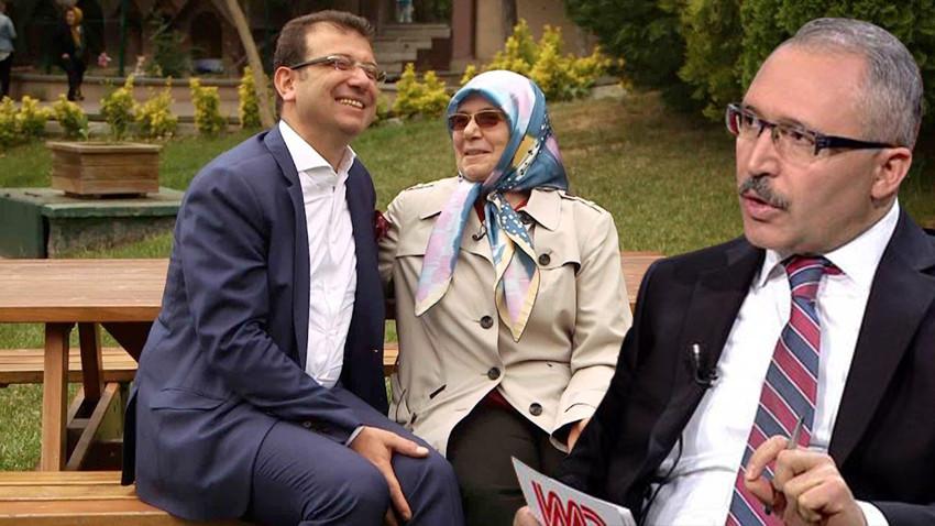 Abdulkadir Selvi, Yeni Şafak yazarını eleştirdi: İmamoğlu'nun annesinin ellerinden öpüyorum!