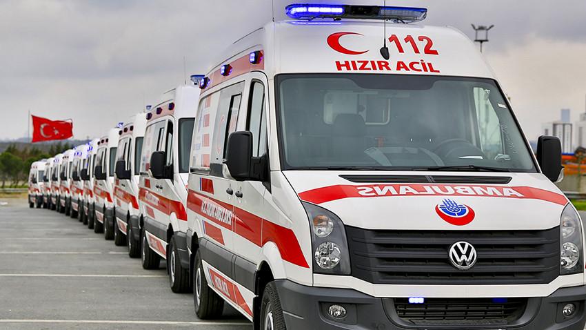 VIP ambulans taksi! Hastaya 400, patrona 700 TL