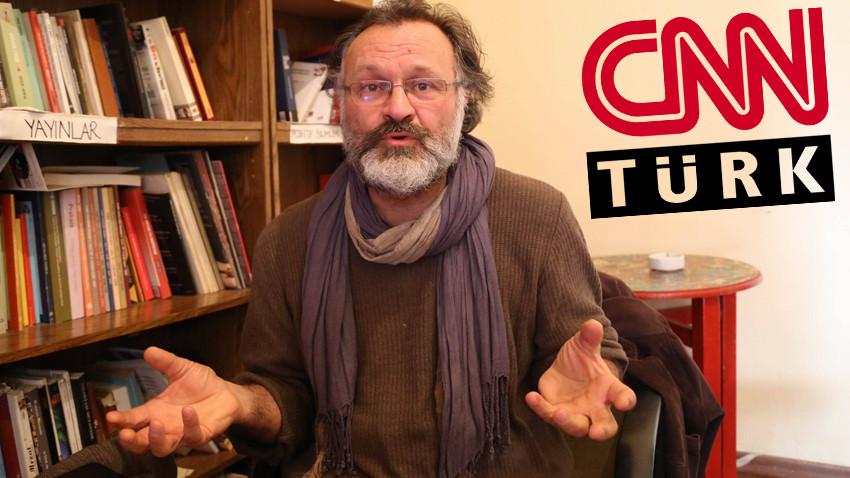 """CNN Türk yayınında sözü kesilen eski pilot böyle tepki gösterdi: """"Biz sustukça meydanı..."""""""