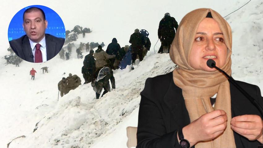 Cumhurbaşkanı Başdanışmanı Gülşen Orhan'dan Aydemir'in 'çığ' iddialarına cevap!