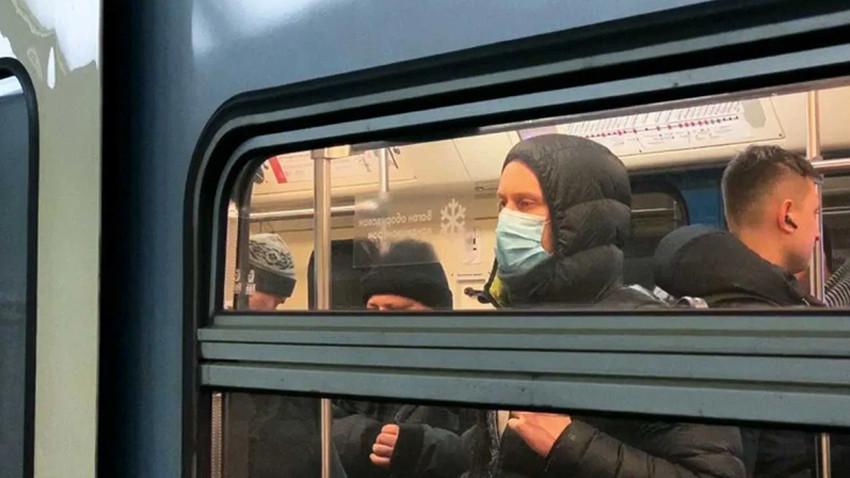 Metroda 'Koronavirüs' şakası yaptı, gözaltına alındı