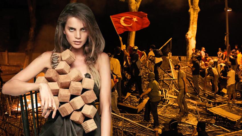 Tuğçe Kazaz'dan Gezi Davası sonrası tehdit! Pişirirler sizi!
