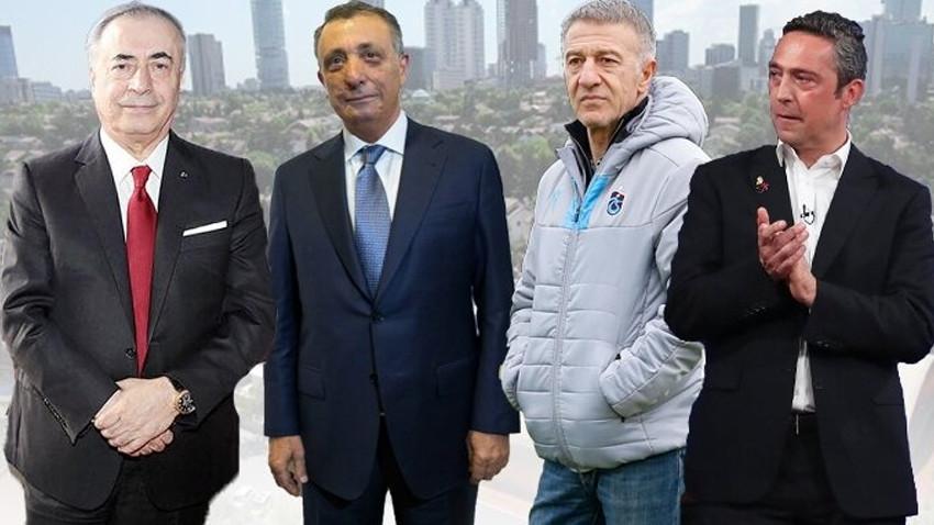 Dört büyüklerin başkanları canlı yayında bir araya geliyor!
