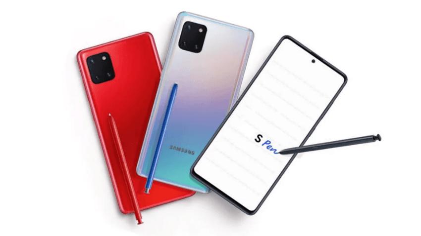Samsung Galaxy Note 10 Lite'ın Türkiye fiyatı belli oldu
