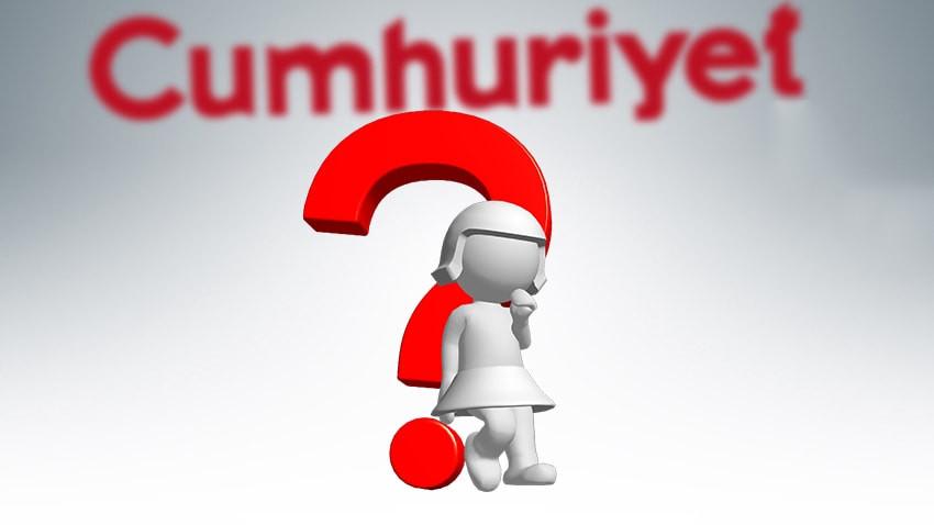 Cumhuriyet Gazetesi'ne bir yazar daha!