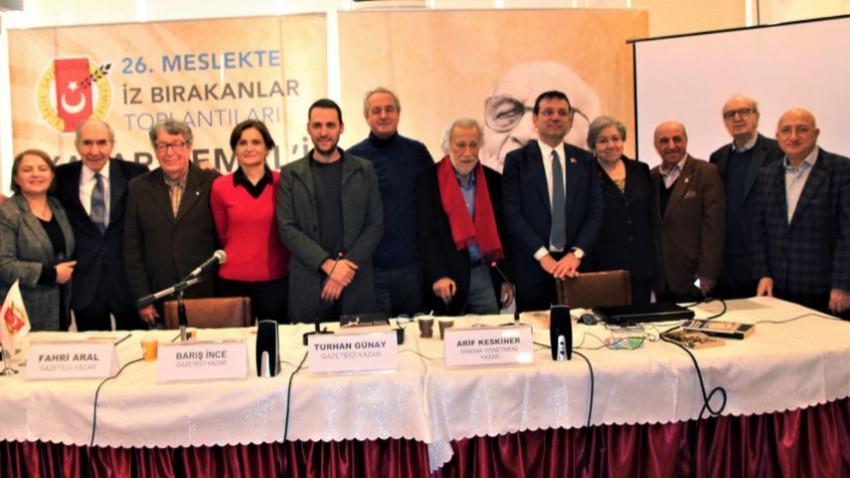 Yaşar Kemal, ölümünün beşinci yılında TGC'de anıldı: Ulusun yüz akıydı