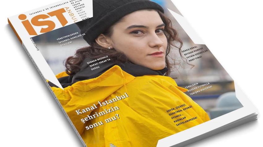 İBB tarafından hazırlanan 'İST' dergisi çıktı!