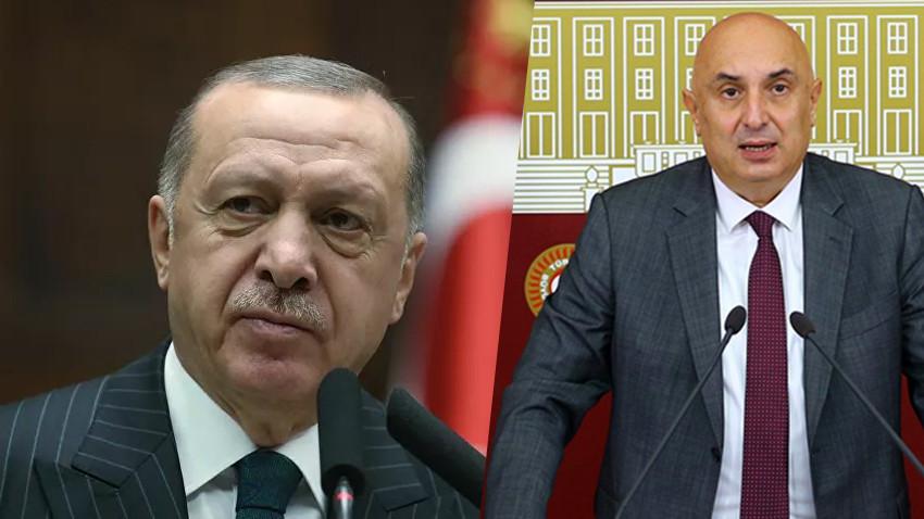 Cumhurbaşkanı Erdoğan'dan Engin Özkoç'a milyon liralık dava!