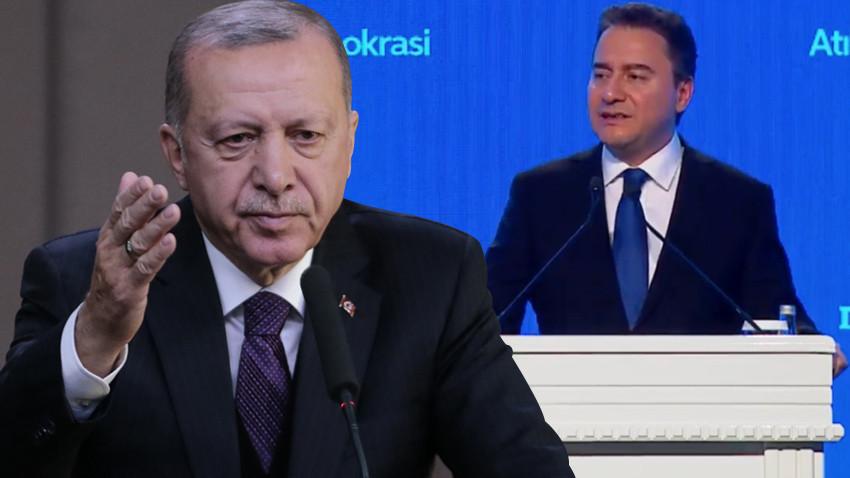 """Cumhurbaşkanı Erdoğan'dan Babacan'a gönderme: """"Yeni diye ortaya sürülen..."""""""
