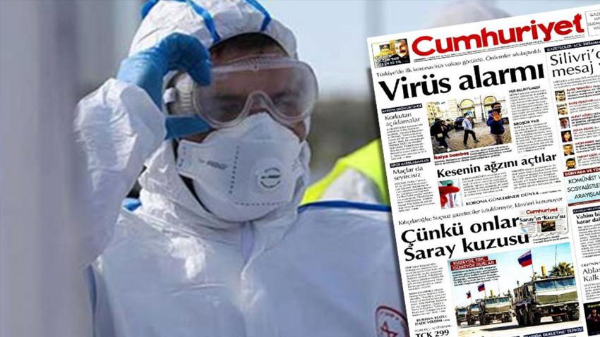 Türkiye'deki koronavirüs vakası gece yarısı açıklandı, gazeteler baskıyı yetiştiremedi