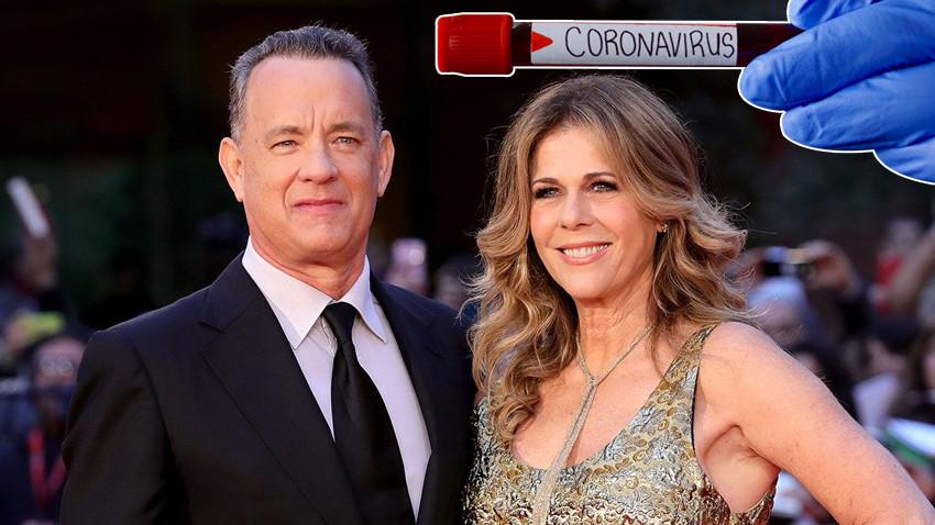 Ünlü aktör Tom Hanks ile eşi koronaya yakalandı