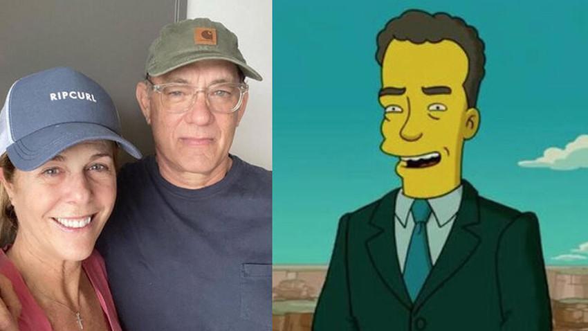 Simpsons Tom Hanks'i de tahmin etti