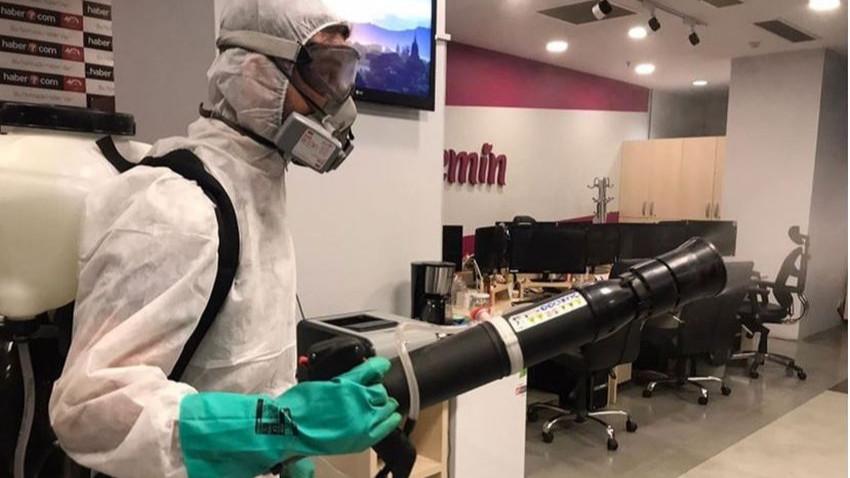 Kanal 7'de Koronavirüs alarmı! Ofisler dezenfekte edildi