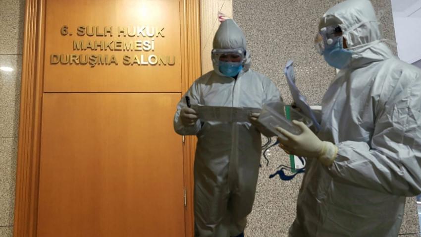 İstanbul Adalet Sarayı'nda 'korona' paniği! Hakimin eşine koronavirüs çıktı!