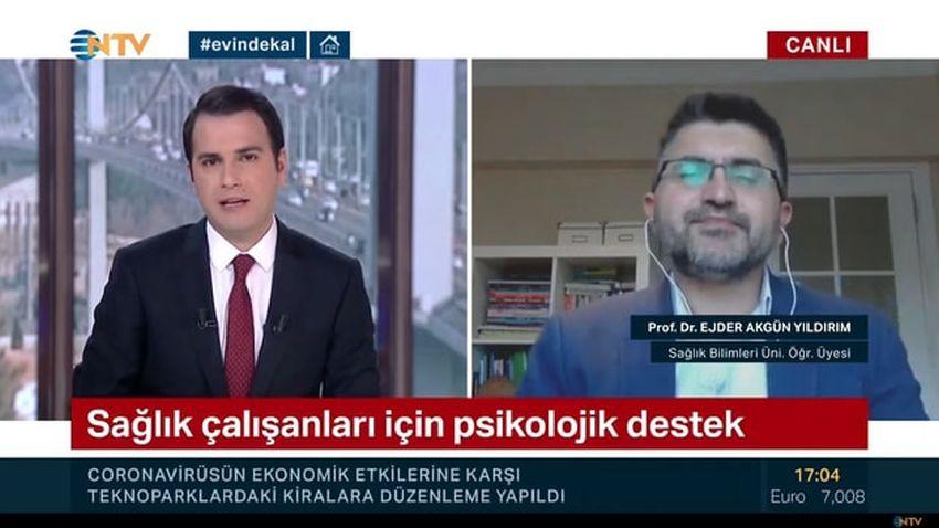 NTV spikerinin canlı yayındaki sorusu olay oldu