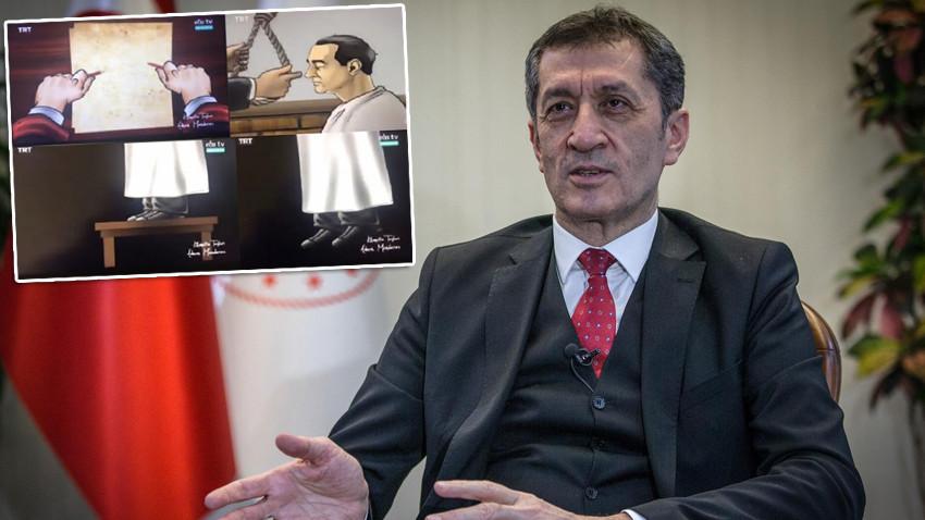 EBA'daki tartışmalı içerikle ilgili Bakan Selçuk'tan açıklama!