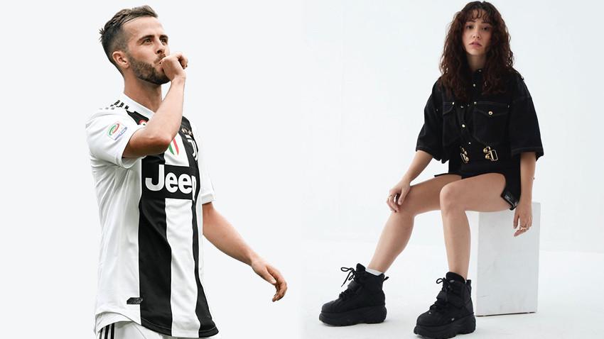 Juventuslu yıldızdan Türk şarkıcıya ilginç mesaj: Yanan ben oldum