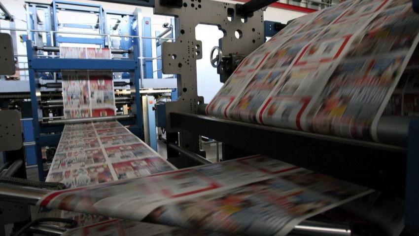 Koronavirüs vurdu! O gazete baskıyı durdurdu!