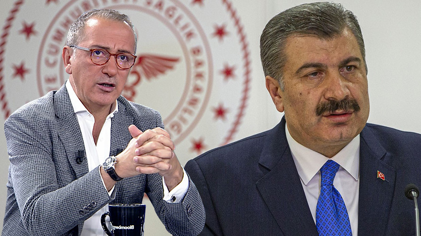"""Fatih Altaylı Bakan Koca'ya açıkça sordu! """"İlaç piyasadan neden toplatıldı?"""""""
