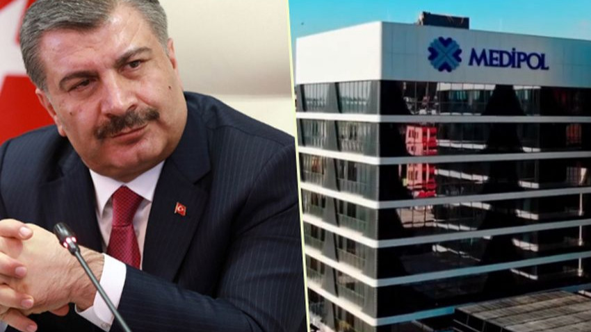 Fahrettin Koca'yı kızdıran Medipol Hastanesi sorusu