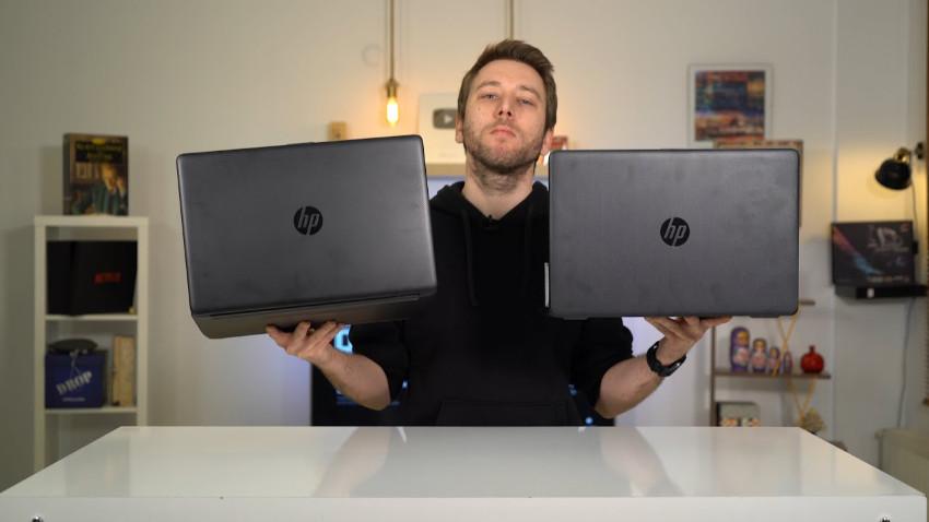 Aynı fiyata satılan HP laptoplar ne fark sunuyor? | Laptop hediye ediyoruz!