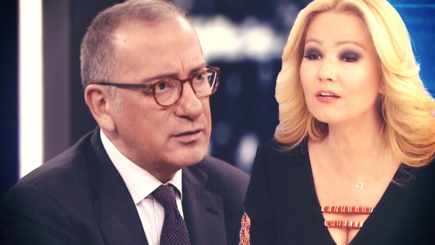 """Fatih Altaylı'dan Müge Anlı'ya sert eleştiri! """"İzleyicilerinden özür dile"""""""
